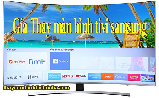 Thay màn hình tivi samsung qled tại nhà